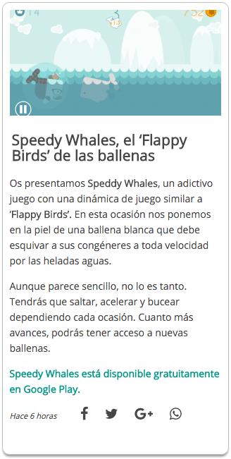 Speedy Whales - El Androide Libre