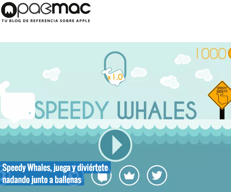 Speedy Whales PacMac