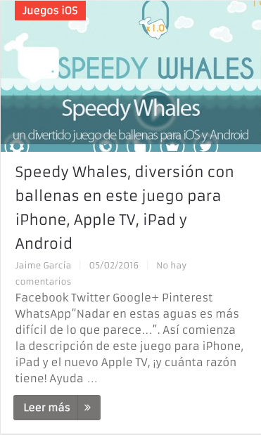 Speedy Whales Todo Apple Blog